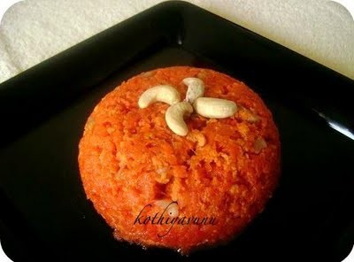 Carrot Halwa Recipe – Gajar ka Halwa Recipe – Microwave Version