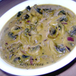 Koon Thengapal Curry /Mushroom Coconut Milk Gravy