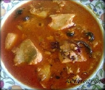 Spicy Fish Curry /Meen Kozhambhu -Tamilnadu Style