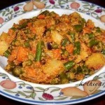Chettinad Vegetable Perattal