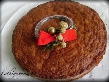 Kerala Plum Cake-Christmas Fruit Cake