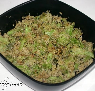 Broccoli Thoran -Broccoli Stir Fry Recipe