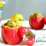Paneer Capsicum Masala Recipe – Capsicum-Bell Pepper with Cottage Cheese