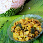 Chakka Erissery /Jackfruit with Roasted Coconut