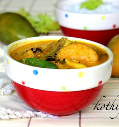 Meen Manga Curry /Fish Mango Curry – Kerala Style