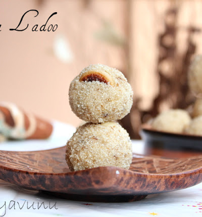 Rava Laddu Recipe – Rava Ladoo Recipe – Rava Unda Recipe – Semolina Balls & Happy 2012