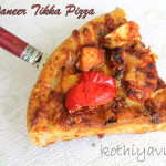 Whole Wheat Paneer Tikka Pizza Recipe