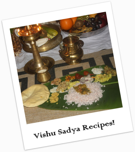 How to make Vishu Sadya Recipes - kothiyavunu.com