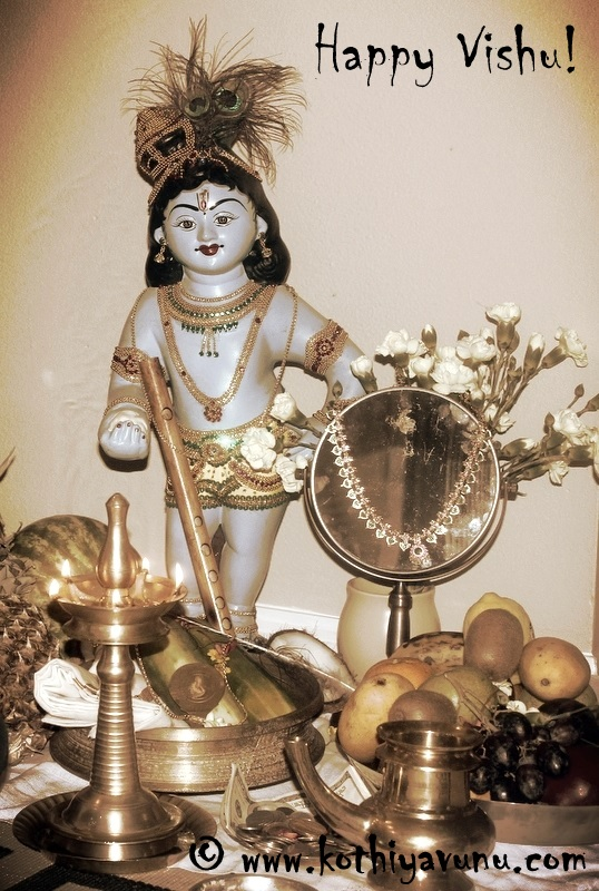 How to Make Vishu Sadya - Vishu Kani |kothiyavunu.com