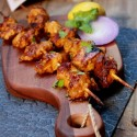 Chicken Tikka Recipe – Murg Tikka Recipe | Spiced Skewered Grilled Chicken Recipe