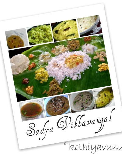Onam Recipes-How to Serve a Kerala Sadya