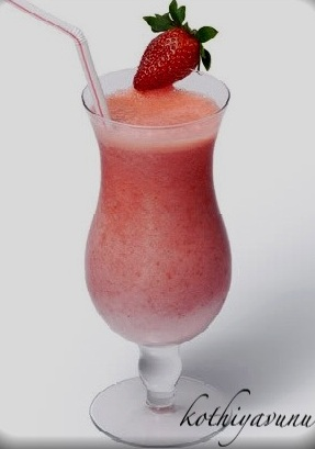 Strawberry Milkshake Recipe