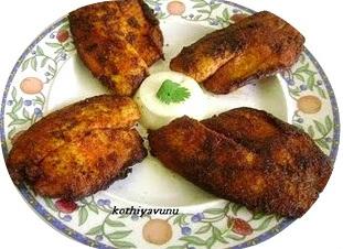 Chettinad Meen Varuval / Chettinad Fish Fry