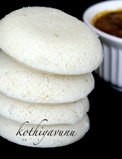 Idli Recipe –  South Indian Idli Recipe  & Ulli Sambar Recipe – Vengaya Sambar-Small Onion-Shallot Sambar Recipe