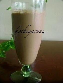 Cold Cocoa Coffee Recipe