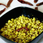 Corn Upperi /Corn Stir Fry