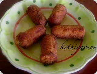 Fried Chicken Sausage /Fried Hot Dog