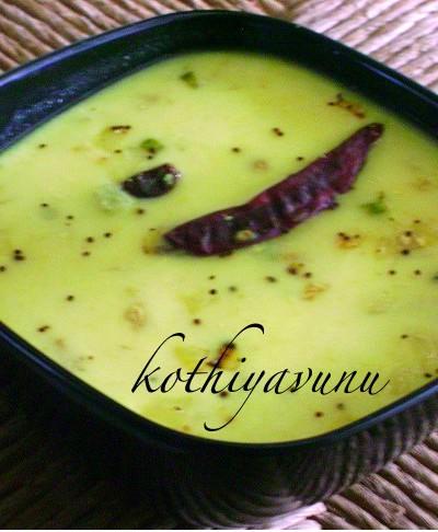 Moru Curry /Moru Kachiyathu /Seasoned Butter Milk
