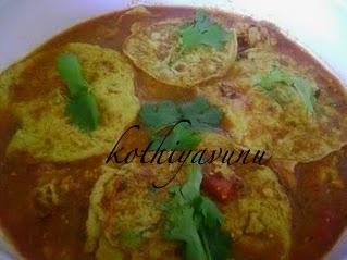 Omelette Curry Recipe | Mutta – Egg Omelette Curry Recipe