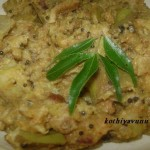 Vazhakka Bread Curry /Raw Plantain Bread Curry