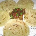 Kerala Parotta – Porotta Recipe | How to make Kerala Parotta from Scratch | Homemade Porotta