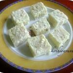 Paneer Kalakand Recipe – Kalakand Recipe -Traditional Method