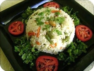 Coconut Milk Vegetable O Recipe Microwave Version Ings Basmati Rice 1 Cup