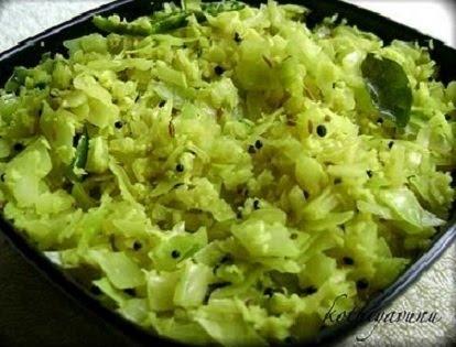 Cabbage Thoran |kothiyavunu.com