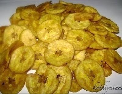 Ethakka Upperi Recipe – Banana Chips Recipe – Kerala Banana Chips Recipe