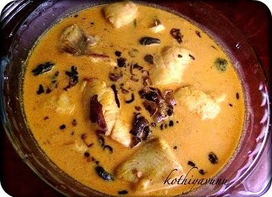 Meen Thengapal Curry / Fish Coconut Milk Curry