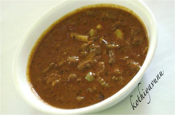 Ulli Theeyal -Small Red Onion-Shallots Theeyal  kothiyavunu.com