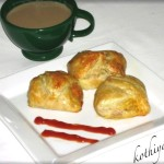 Egg Puffs Recipe & Vegetable Puffs Recipe