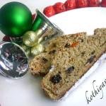 Christmas Stollen -German Christmas Fruit Cake |kothiyavunu.com
