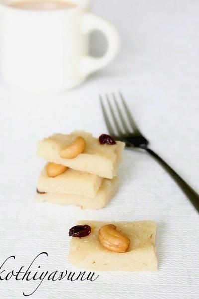 Kappa Kinnathappam Recipe – Tapioca Steamed Cake in a Plate