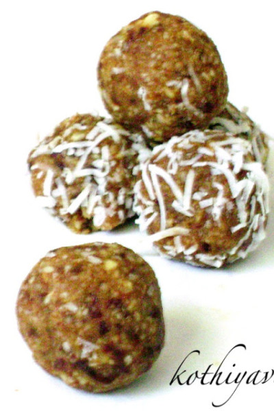 Date Nuts Balls Recipe | Dry Fruit Laddu-Ladoo Recipe