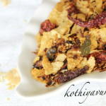 Pappadam Thoran -Stir-fried Pappad |kothiyavunu.com