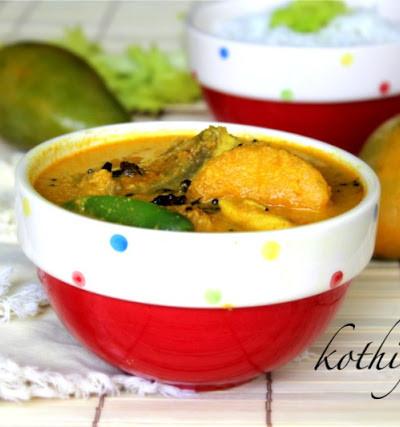 Meen Manga Curry /Fish Mango Curry – Kerala Style