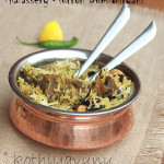 Thalassery Mutton Dum Biryani Recipe – Malabar Mutton Biryani and Biryani Chammanthi-Chutney
