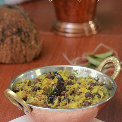 Kootu Curry – Sadya Special /Roasted Coconut with Mixed Vegetables & Chickpeas