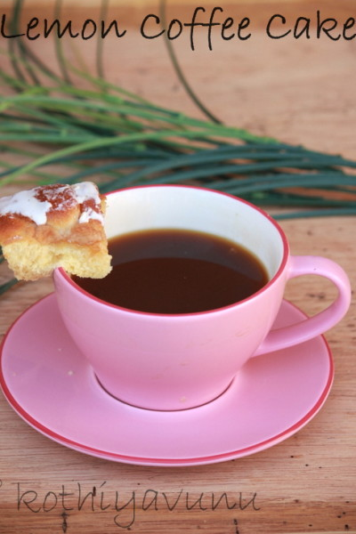 Lemon Coffee Cake Recipe – Mother's Day Special