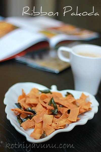 Ribbon Pakoda Recipe – Ola Pakkavada Recipe – Kerala Pakkavada Recipe