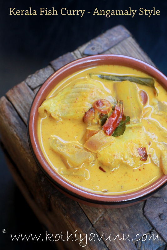 Kerala Fish Curry Recipe Angamaly Style Fish Mango Curry In Coconut Milk Recipe