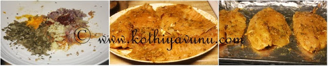Spicy Baked Fish-Kerala Style | Baked Fish with Indian Spices |kothiyavunu.com