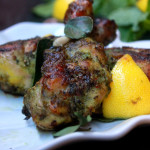 Herb Baked Chicken Drumstick-Chicken Baked with fresh Herbs|kothiyavunu.com