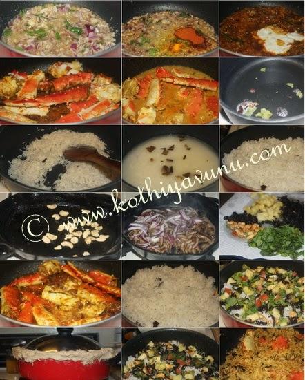 Crab Dum Biryani - Kerala Style Njandu BIryani |kothiyavunu.com