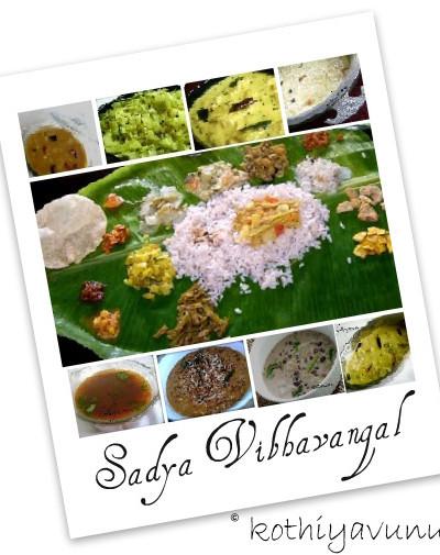 Onam Recipes-How to Serve a Kerala Sadya