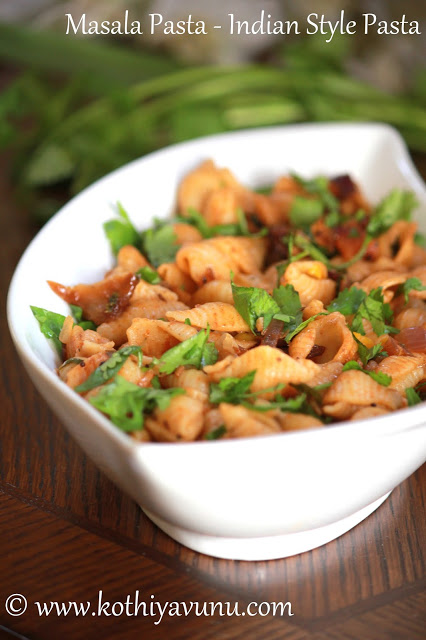 how to make spicy pasta indian style