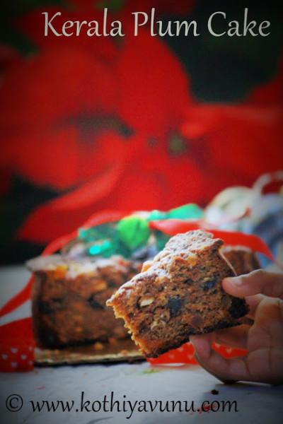 Kerala Plum Cake – Fruit Cake-Pressure Cooker Method
