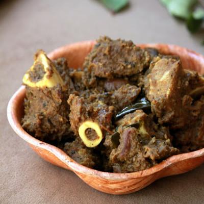 Kerala Mutton Roast – Nadan Erachi Ularthiyathu
