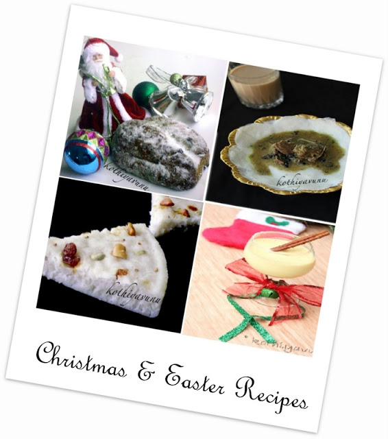 Christmas Recipes |kothiyavunu.com